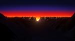 Sun Dawn Landscape 02