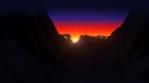 Sun Dawn Landscape 02 B