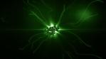 green coronavirus bunch covid-19