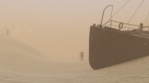 Desert Storm Post-Apocalyptic VJ Loop
