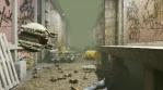 Digital Police Robot Post-Apocalyptic VJ Loop