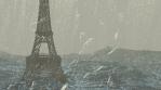 Post-Apocalyptic Eiffel Tower in Paris VJ Loop