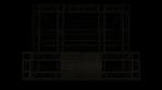 Lighting Video Mapped DJ Booth - LED Light Tubes Depth