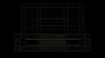 Lighting Video Mapped DJ Booth -  LED Light Tubes Horizontal