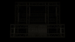 Lighting Video Mapped DJ Booth -  LED Light Tubes Vertical