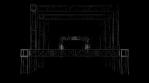 Lighting Video Mapped DJ Booth - Truss Tunnel Multi Lights
