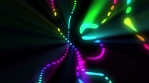 Glowing Abstract Colors