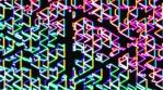 Neon Herringbone 3 - Arrow