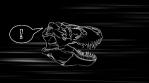 T-Rex Skull Loop 03