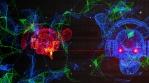 Techno Skull RGB VJ-Loop - 1