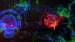Techno Skull RGB VJ-Loop - 3