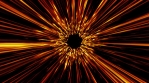 Abstract Slow Motion Beautiful Fire Starburst Animation