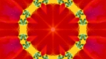 Kaleidoscopic VJ Loop KSBB17  - Summer Berry Blasts - Abstract psychedelic background patterns