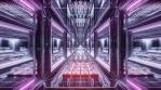 Sci Fi Tunnel Long Corridor Visuals