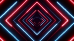 Abstract Digital Background Neon Polygon