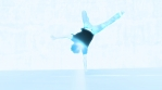break dance jumps guy blue glow bright and more amazing stuff in a 6 second clips OMG