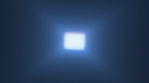 square volumetric lights coming to front with glow 4K COLORFUL