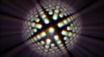 circular strange oblongate thing that rotates and has prisma light 03 4K