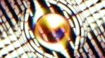 circular strange thing that rotates and has prisma light 04 4K