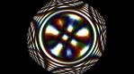circular strange thing that rotates and has prisma light 4K