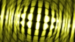 light wall that rotates random yellow 4K Volumetric Lights