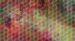 Abstract Cube Pattern with Rainbow Colored Texture