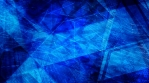Abstract Geometric Dark Blue Spinning Shapes and Lines