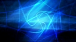 Cool Spiral Curve Pattern on Soft Blue Texture