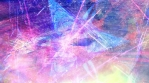 Dark Abstract Rising Particles on Blue and Pink Texture
