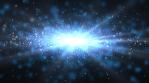 Light Speed Space Travel through Nebula Dust to Center of Galaxy