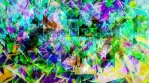 Psychedelic Rotating Shattered Rainbow Spiral Tunnel