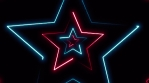 Abstract Neon Light Stroke Background Animation Loop