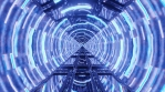 Sci Fi Tunnel Circle Spinning
