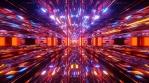 Sci Fi Tunnel Abstract Shiny Art