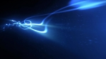 Abstract Glowing Light Strokes Beams Background Loop