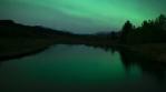 aurora reflection pond wind 2020