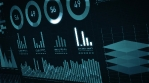 Business Stats, Market Data And Infographics Background Layout