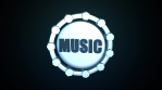 music 3d icon