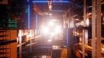 Sci Fi Tunnel Electric Energy