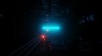 Sci Fi Tunnel Digital Space Glowing Speed 2