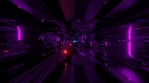 Sci Fi Tunnel Digital Space Glowing Speed