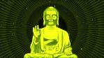 Buddha With Rays Animation