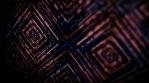 Abstract Digital Lights Kaleidoscope Technology Animation