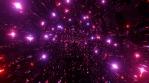 Sci Fi Tunnel Red stars