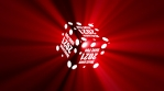 Welcome 2021 Have Fun With Volumetric Lights Colorful Cube