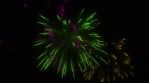 Cool Colorful Fireworks Animation for New Year or your party