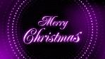 Merry Christmas LED Animation