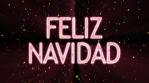 feliz navidad lluvia de confetti 4k multicolor with resplandor and flashes de luces volumetricas