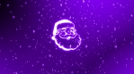 rotation fast change christmas icons 4k snow background colorful 04