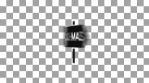 rotation fast change christmas icons 4k black alpha channel